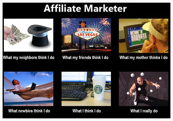 what do affiliate marketers do