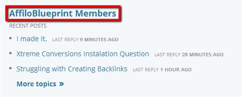 Affiloblueprint Forums