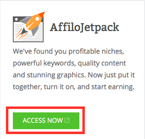 Affilojetpack Access Button 2015