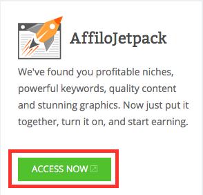 Affilojetpack Access Button 2015