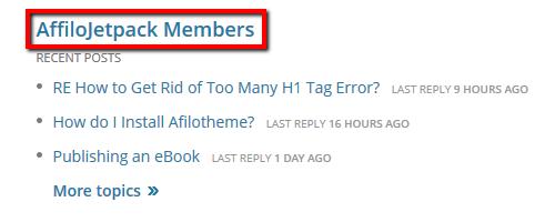 AJ Members