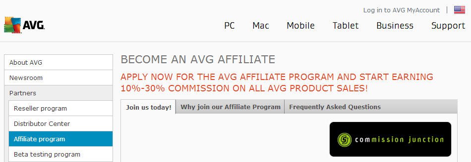 AVG Antivirus Affiliate Program