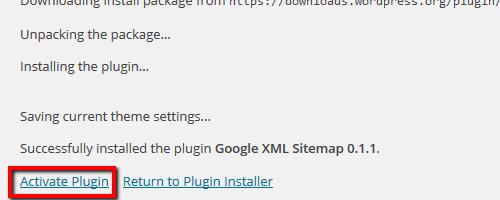 Activate Plugin