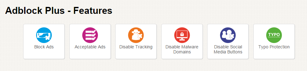 Adblock Plus Features