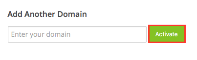 Add Domain Premium