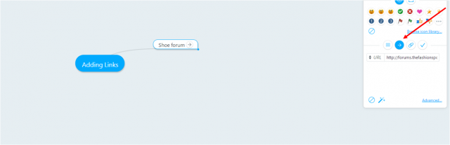 Adding links to brainstorms