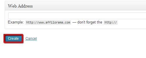 Create Affiliate Redirect