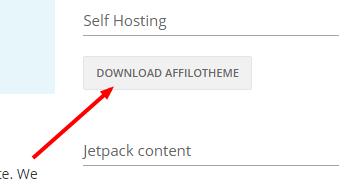 Download AffiloTheme in AffiloJetpack