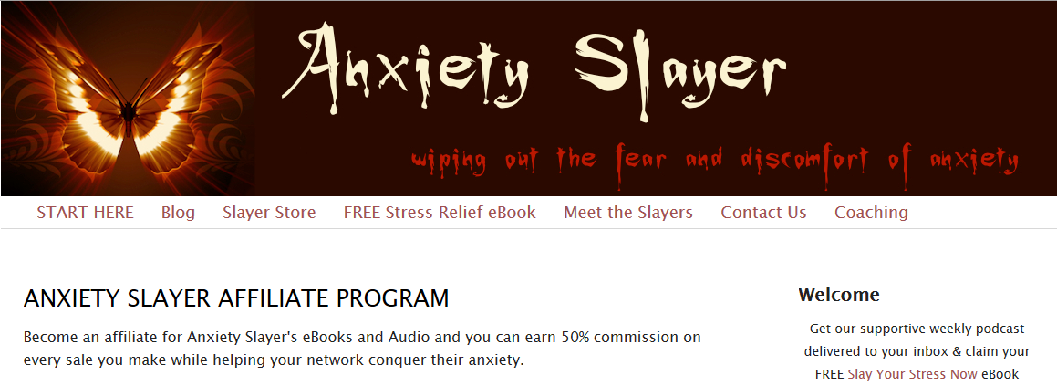 Anxiety Slayer E-junkie