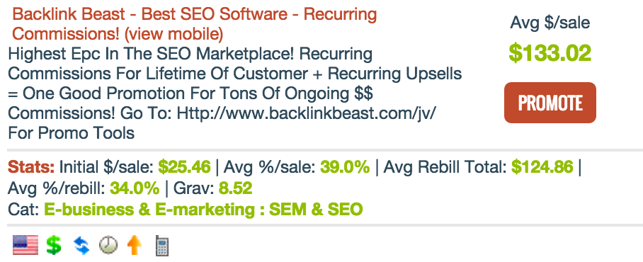 Backlink Beast - SEO Affiliate Programs