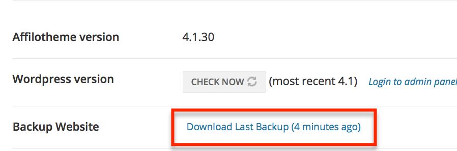 Backup Link