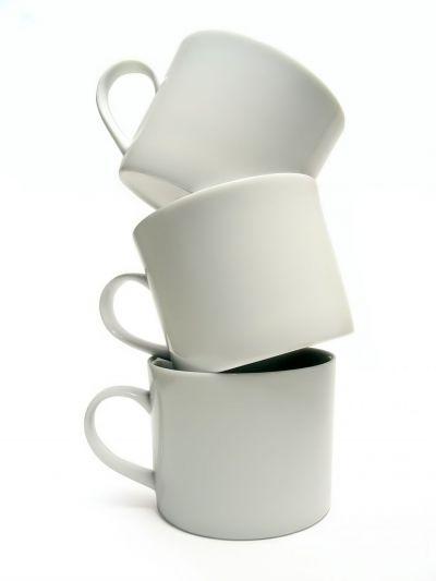 Balancing coffee cups