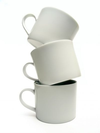 Balancing coffee cups