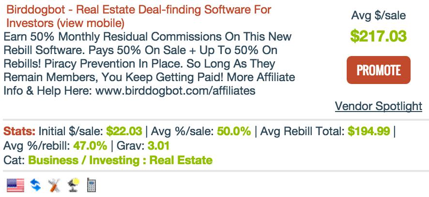 BirdDogBot.com - Real Estate Affiliate Programs
