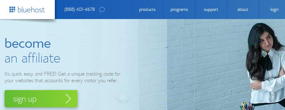 BlueHost - Web Hosting Affiliate Program
