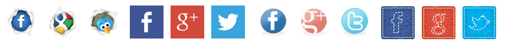 Crafty Social Button Options