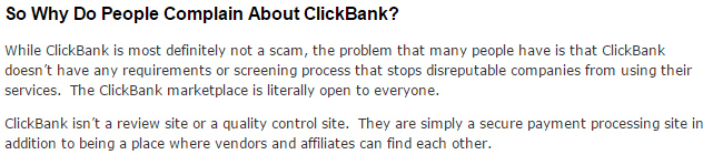 Clickbank blog review