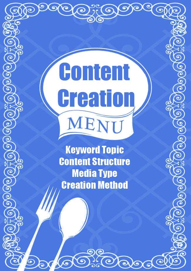 Content Creation Menu