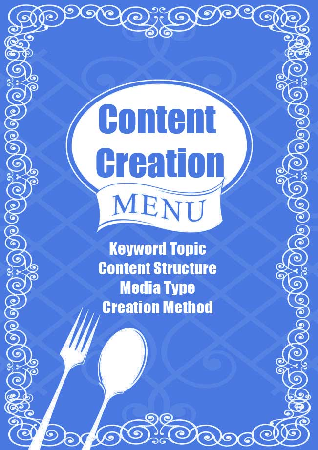 Content Creation Menu