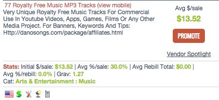 Danosongs.com - MP3 Affiliate Programs
