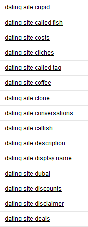 Dating Site - KeywordBuzz Results 1
