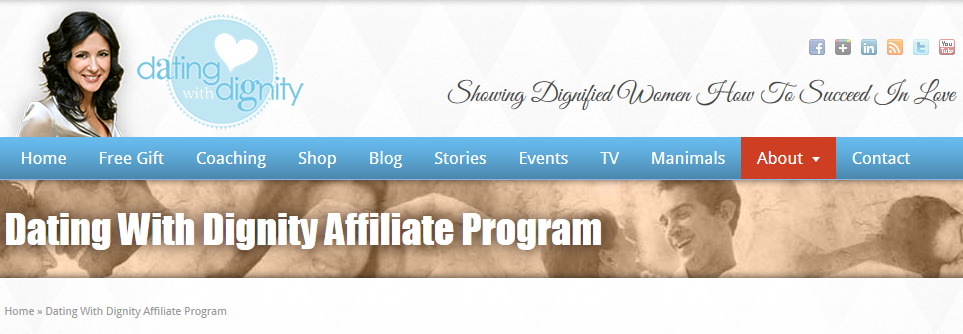 Dating With Dignity Affiliate Program