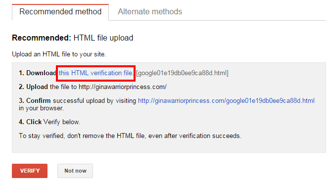 download HTML link