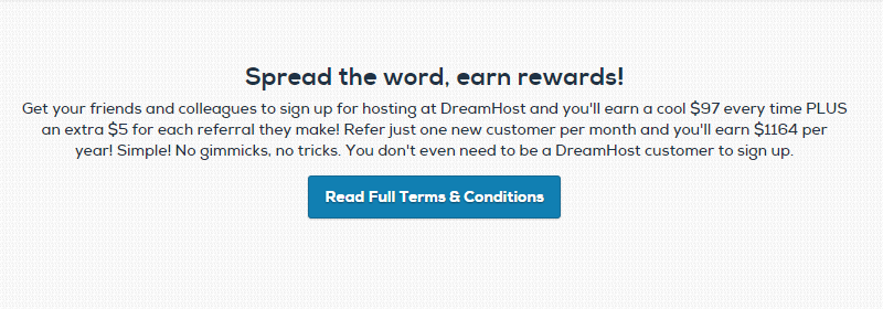 DreamHost - Web Hosting Affiliate Programs
