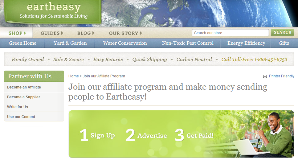 Eartheasy.com Affiliates