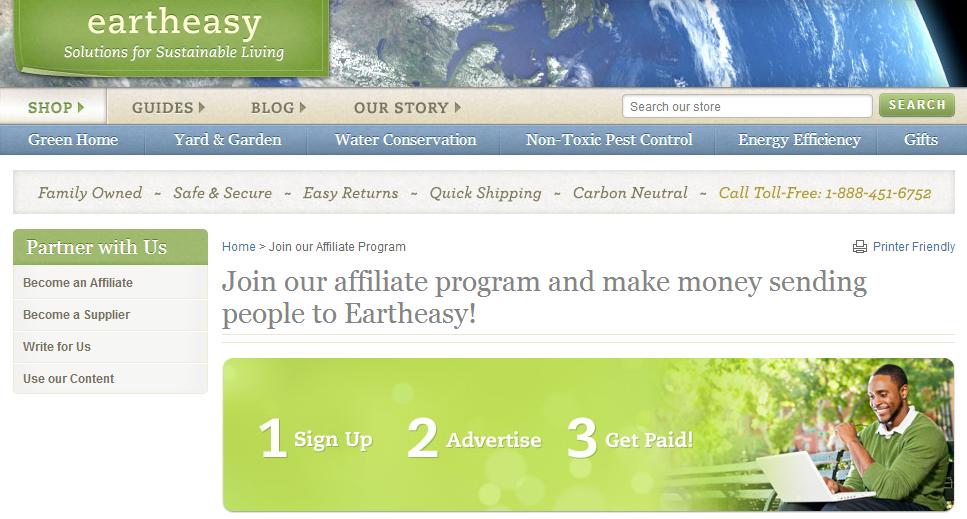 Eartheasy.com Affiliates