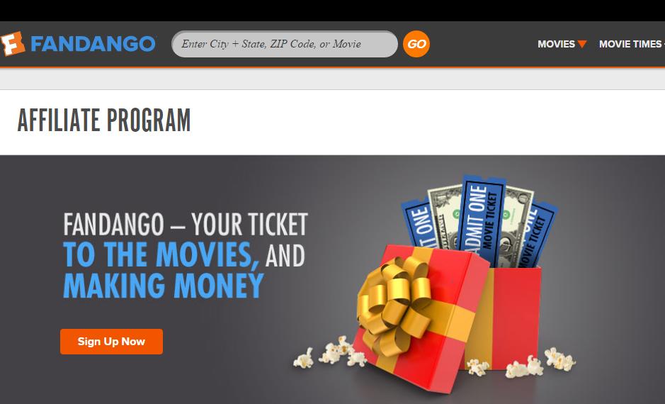 Fandango - Movie Affiliate Programs