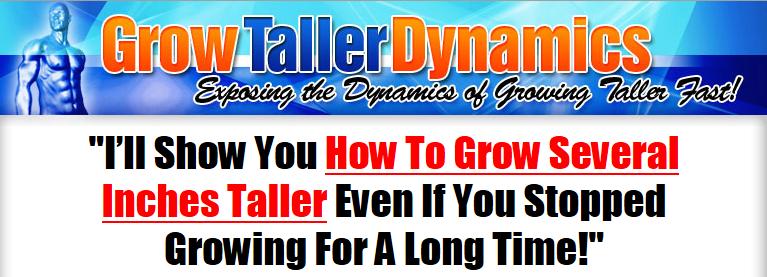 Grow Taller Dynamics