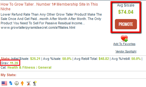 How To Grow Taller - Clickbank