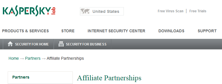 Kaspersky Antivirus Affiliate Program