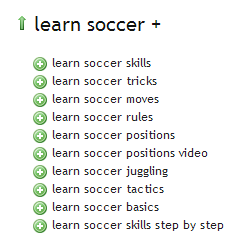 Learn Soccer - Ubersuggest