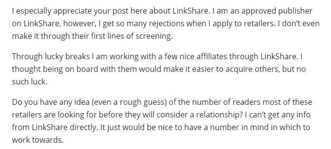 LinkShare forum review
