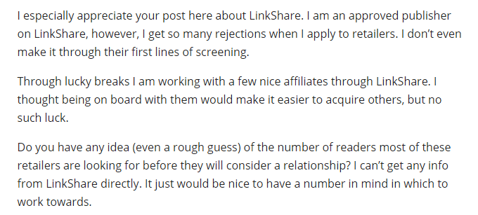 LinkShare forum review