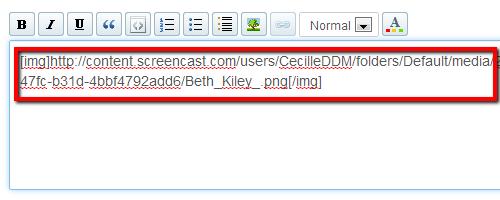 Link Between IMG Code