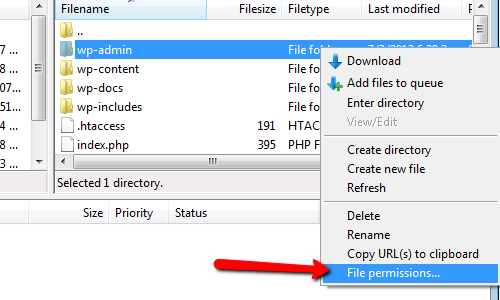 Migrate AJ - File Permission