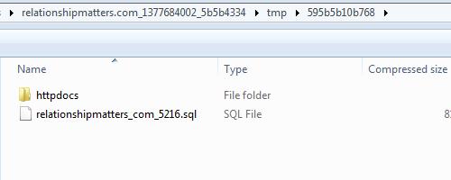 Migrate AJ - Zipped File