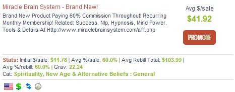 Miracle Brain System - Spiritual Affiliate Programs