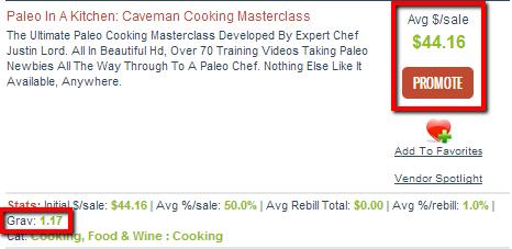 Paleo In A Kitchen: Caveman Cooking Masterclass Affiliate Program