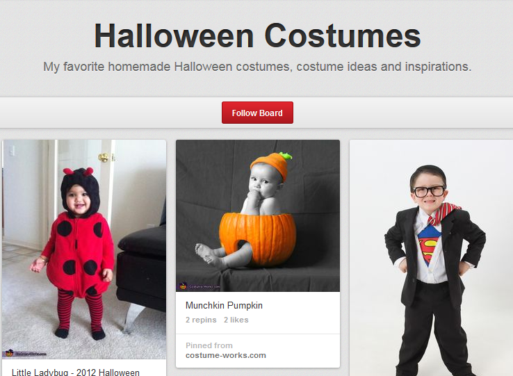Pinterest Halloween costumes