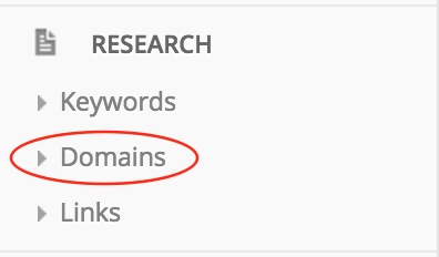 Research Domains - Affilotools