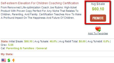 Self Esteem Elevation For Children - Clickbank
