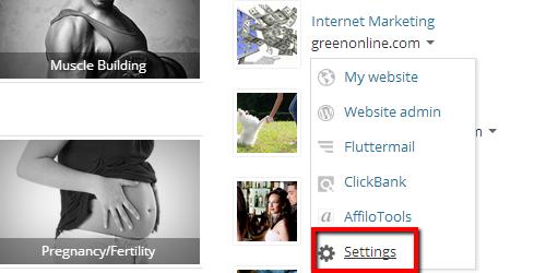 AJP Settings Link