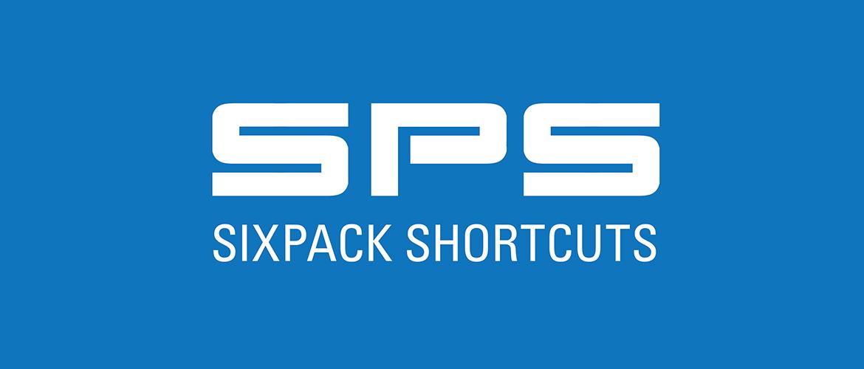 Sixpack Shortcuts