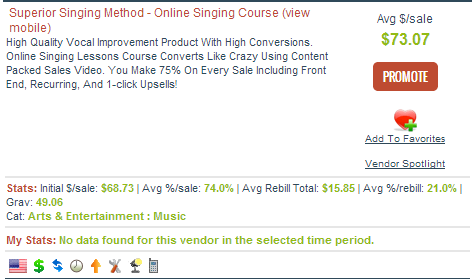 Superior Singing Method Affiliate Program