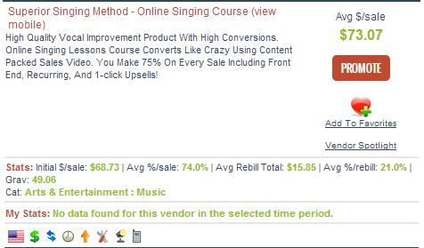 Superior Singing Method Affiliate Program