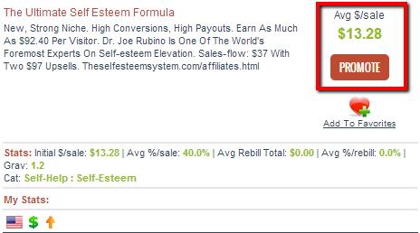 Ultimate Self Esteem Formula - Clickbank